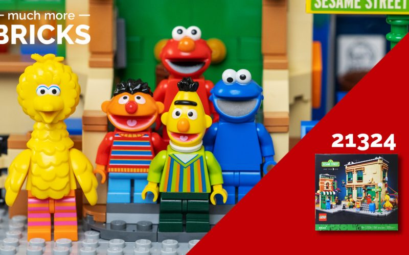 LEGO Ideas 21324 123 Sesame Street – In Depth look, Speed build and Review!
