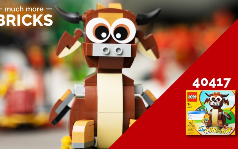 LEGO 40417 Year of the Ox Review!