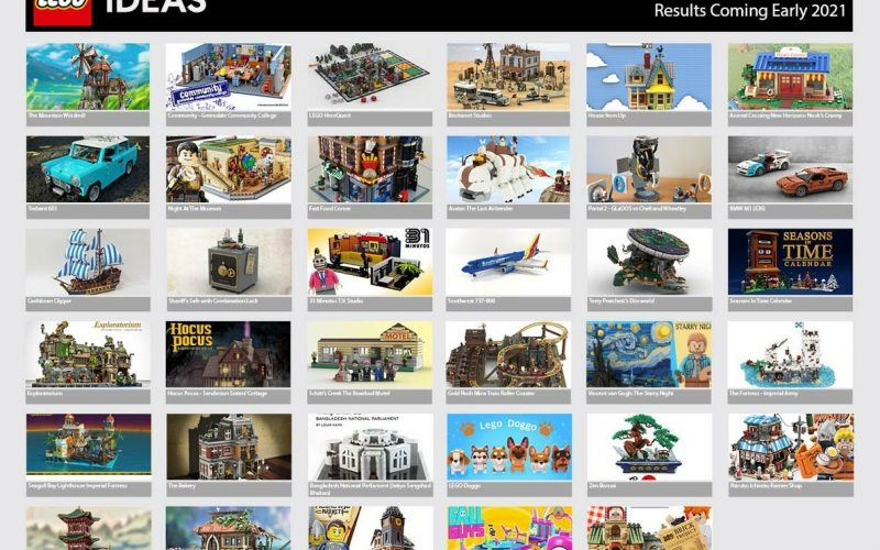 LEGO IDEAS: Second 2020 Review Results ANNOUNCED!