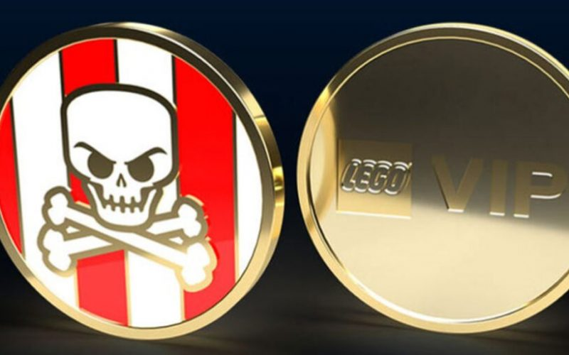 NOW AVAILABLE: LEGO Pirate Collectable VIP Coin