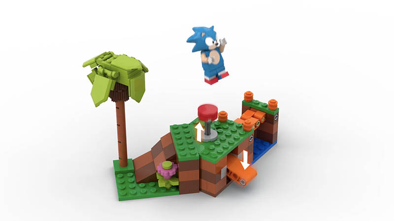 APPROVED LEGO IDEA: Sonic The Hedgehog