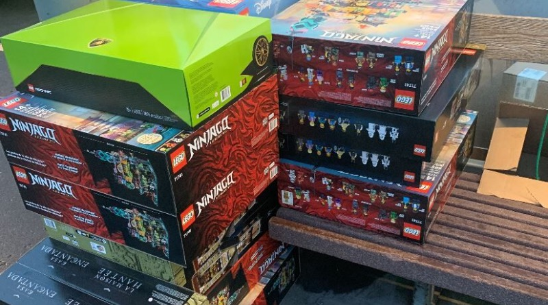 Man From Oregon Steals $7,500 Worth of LEGO Sets!