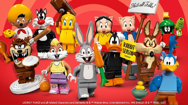 OFFICIALLY REVEALED!! LEGO Looney Tunes Minifigures 71030
