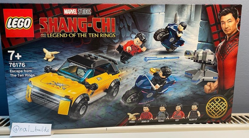 ANOTHER LEAK!! LEGO Marvel Shang-Chi and the Legend of the Ten Rings – Escape From The Ten Rings 76176