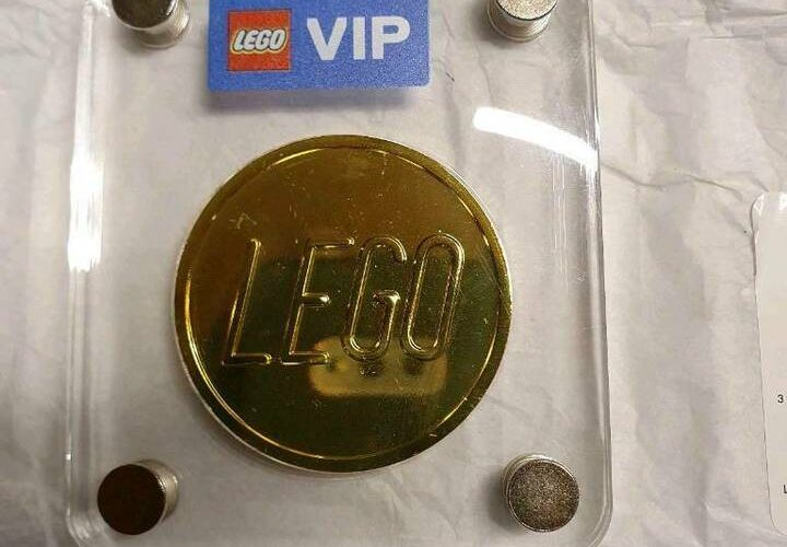 DELAYED!! Last Remaining LEGO VIP Gold Collectible Coin