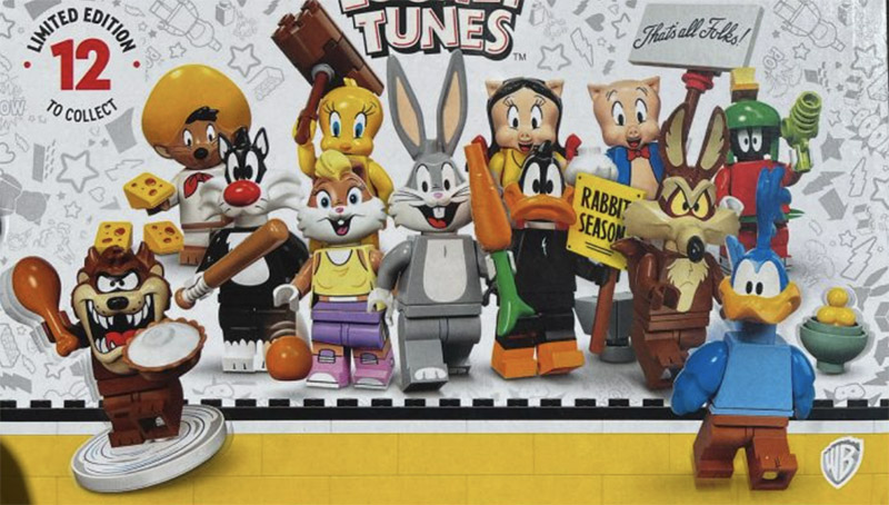 FIRST LOOK!! Looney Tunes Collectible Minifigures