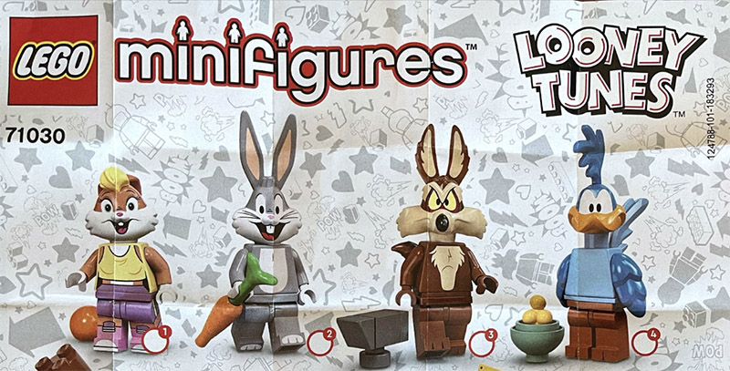 CLOSER LOOK! Looney Tunes Collectible Minifigures 71030