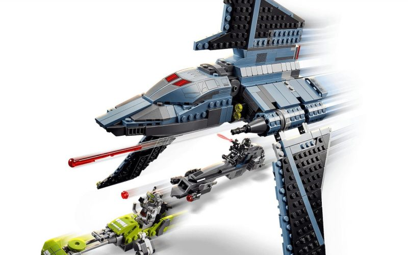 OFFICIALLY LAUNCHED!! LEGO Star Wars Bad Batch Attack Shuttle 75314