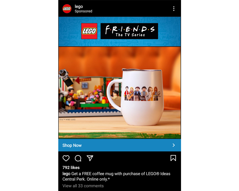 This image has an empty alt attribute; its file name is LEGO-Ideas-Central-Perk-Mug.jpeg