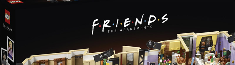 OFFICIALLY ANNOUNCED!! LEGO Friends The Apartments 10292