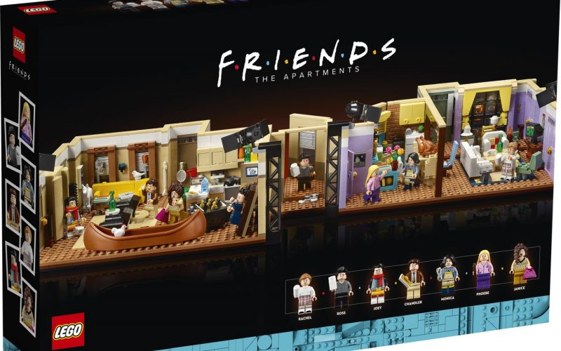 NOW AVAILABLE!! LEGO The Friends Apartments 10292
