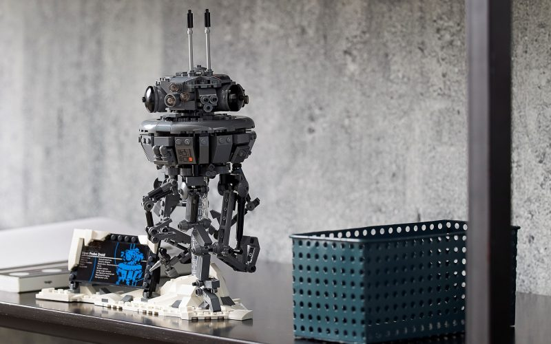 Designer Video Released!! LEGO Star Wars Imperial Probe Droid 75306