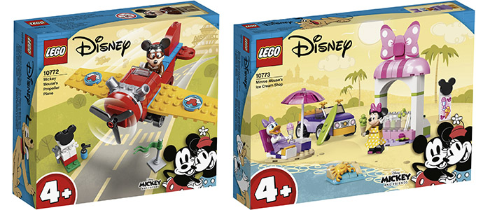 FIRST LOOK! LEGO Mickey and Friends 10772 & 10773
