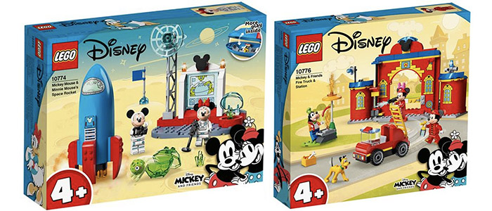 FIRST LOOK! LEGO Mickey and Friends 10774 & 10776