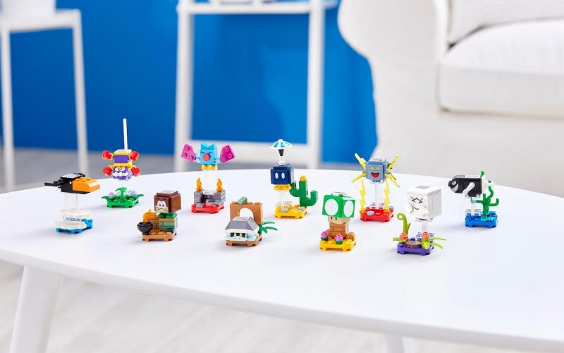 REVEALED!! LEGO Super Mario Series 3 Character Pack 71394