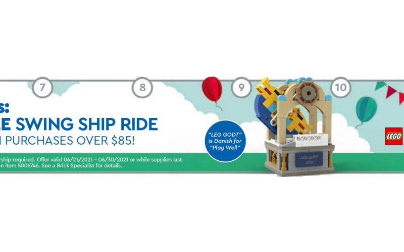 SOLD OUT!! LEGO Swing Ship Ride 5006746