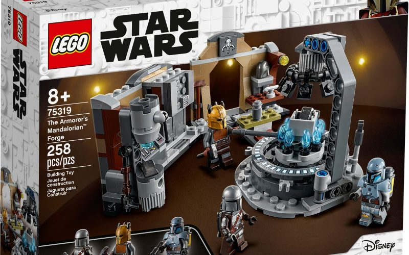 REVEALED!! LEGO Star Wars The Armorer's Mandalorian Forge 75319