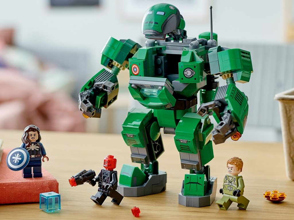 This image has an empty alt attribute; its file name is lego-marvel-76201-captain-carter-the-hydra-stomper-9-1024x768.jpeg