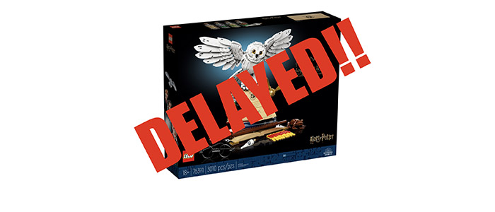 DELAYED!! LEGO Harry Potter Hogwarts Icons – Collectors Edition 76391