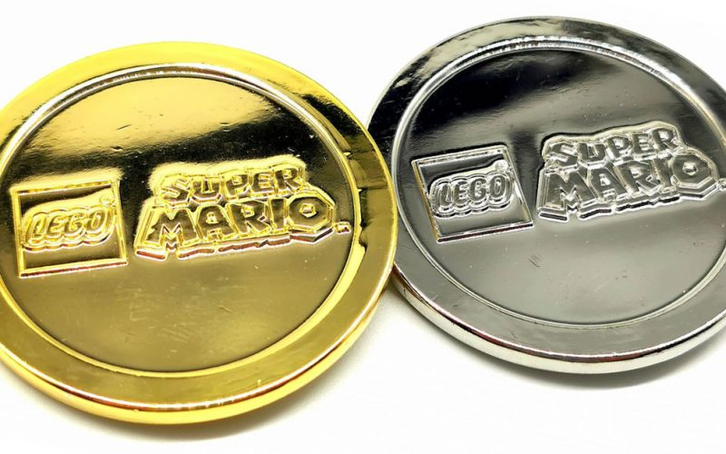 SPOTTED!! LEGO Super Mario Limited Edition Coins