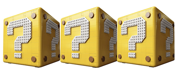 OFFICIALLY REVEALED!! LEGO Super Mario Question Mark Block 71395