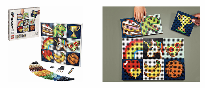 REVEALED!! LEGO Art Project – Create Together 21226