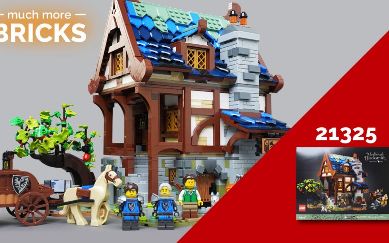 LEGO Ideas 21325 Medieval Blacksmith – In Depth look, Speed build and Review!