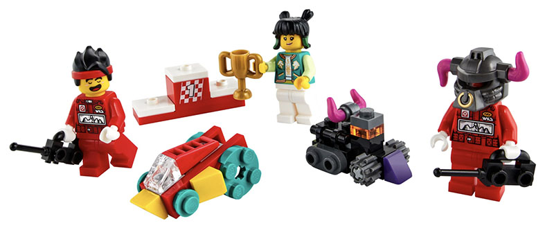 NEW MONKIE KID SET: Remote Controlled Race 40472