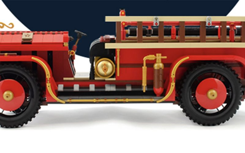 Chance To WIN Antique Fire Truck!