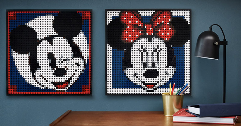 FREE!! Alternate Instructions for Mickey Mouse Wall Art 31202