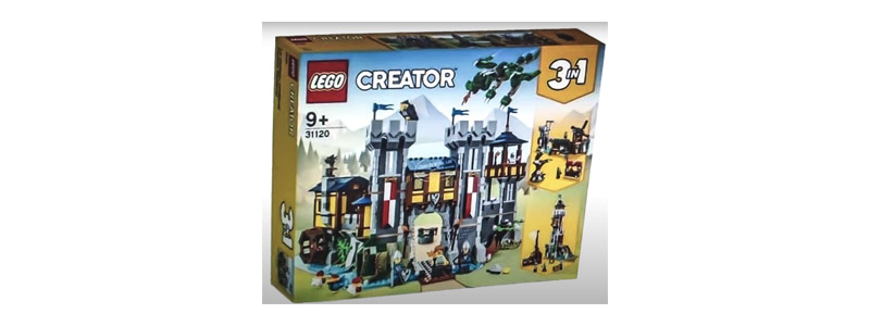 LEAKED!! First Look at the LEGO Creator 3in1 Knight's Castle 31120