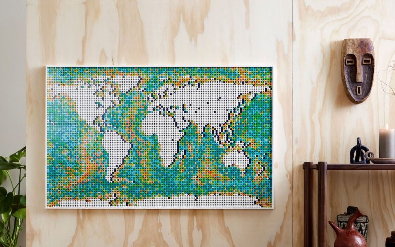 LARGEST LEGO SET OFFICIALLY ANNOUNCED!! LEGO World Map 31203