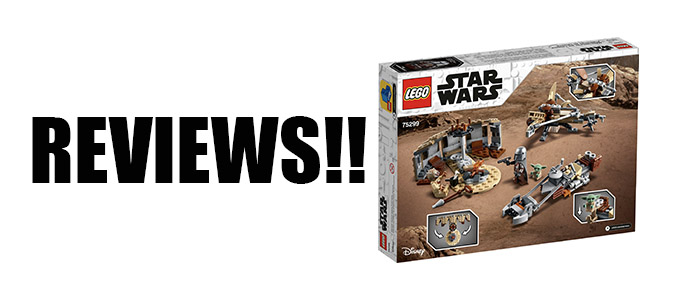 REVIEWS!! LEGO Star Wars Trouble On Tatooine 75299