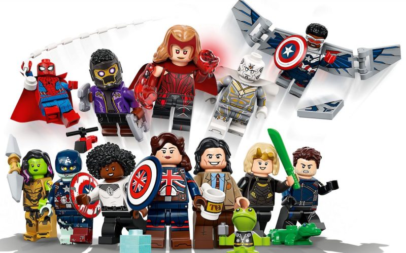 REVEALED!! LEGO Marvel Collectible Minifigure Series 71031