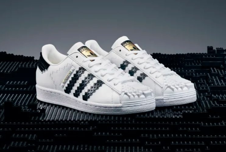 NOW AVAILABLE!! adidas Superstar x LEGO Shoes