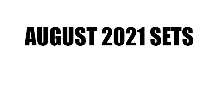 RELEASED!! LEGO August 2021 Sets