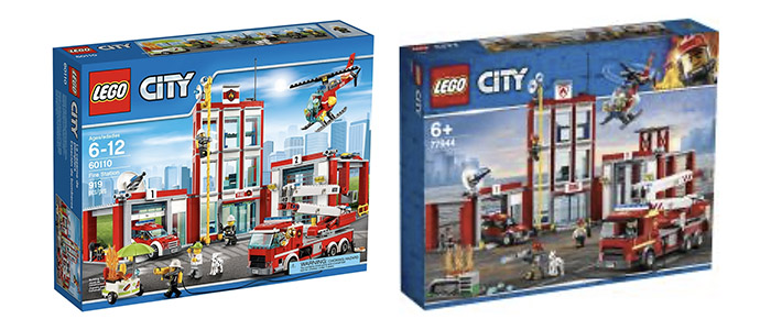 MORE REVISED SETS?! LEGO City Fire Station Headquarters 77944