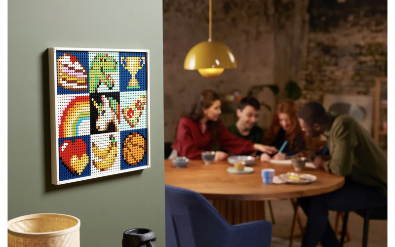OFFICIALLY REVEALED! LEGO Art Project – Create Together 21226