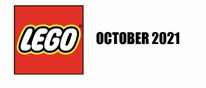 NOW AVAILABLE!! LEGO October 2021 Sets